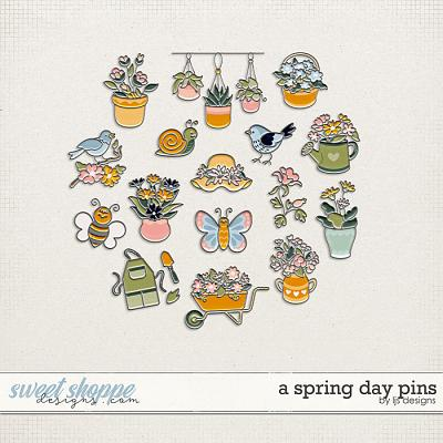 A Spring Day Pins by LJS Designs