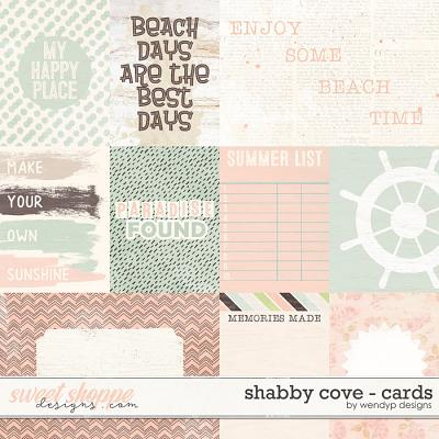 Shabby cove - cards by WendyP Designs