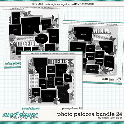 Cindy's Layered Templates - Photo Palooza Bundle 24 by Cindy Schneider
