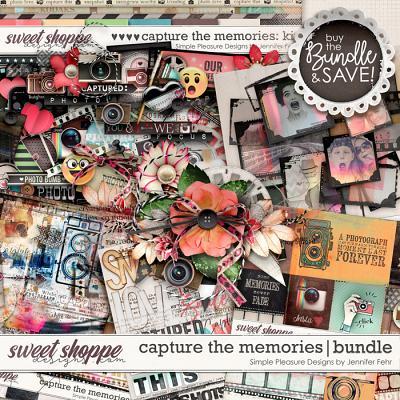 capture the memories bundle: simple pleasure designs by jennifer fehr