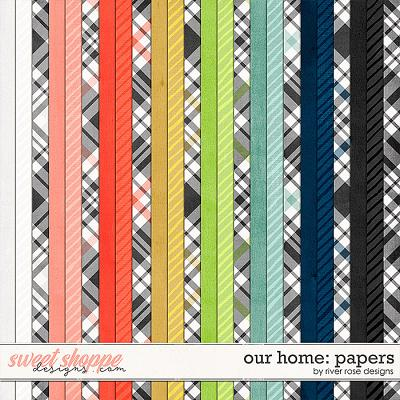 Our Home: Papers by River Rose Designs