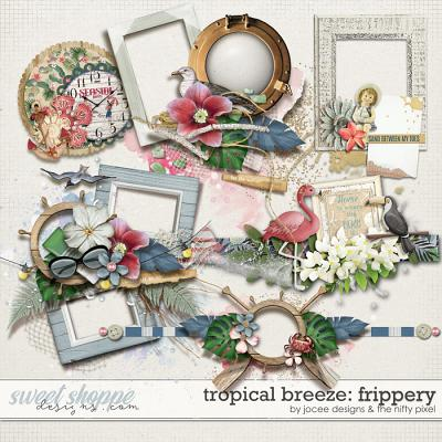 Tropical Breeze Frippery by JoCee Designs and The Nifty Pixel