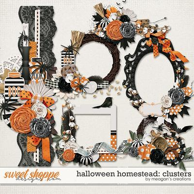 Halloween Homestead: Clusters by Meagan's Creations