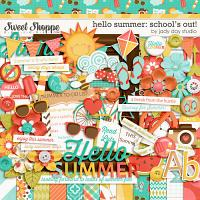 Hello Summer: School's Out! by Jady Day Studio