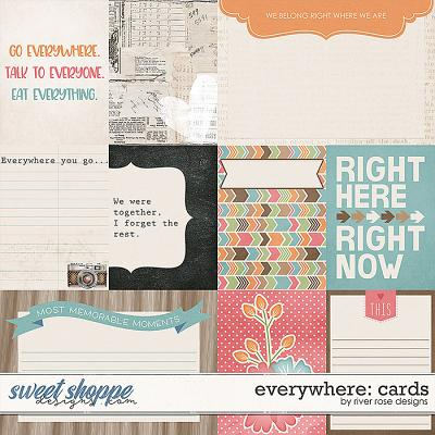 Everywhere: Cards by River Rose Designs