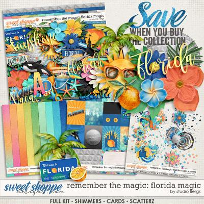 Remember the Magic: FLORIDA MAGIC- COLLECTION & *FWP* by Studio Flergs