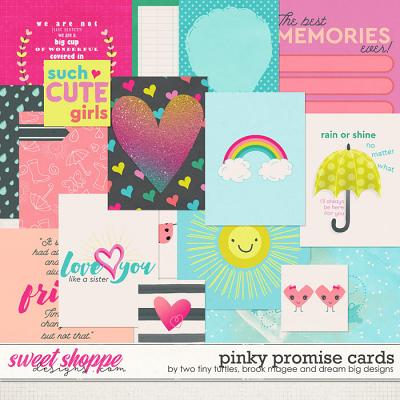 Pinky Promise Cards by Brook Magee, Dream Big Designs & Two Tiny Turtles