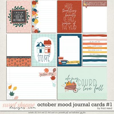 October Mood Cards 1 by Traci Reed