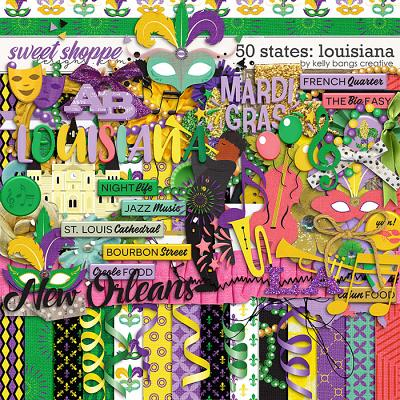 50 States: Louisiana by Kelly Bangs Creative