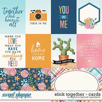 Stick Together | Cards by Digital Scrapbook Ingredients
