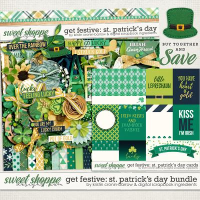 Get Festive: St Patrick's Day Bundle by Kristin Cronin-Barrow & Digital Scrapbook Ingredients