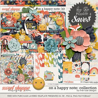 On a Happy Note : Collection + FWP by River Rose Designs