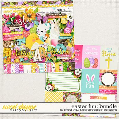 Easter Fun Bundle by Amber Shaw & Digital Scrapbook Ingredients