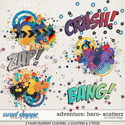 Adventure: Hero- SCATTERZ by Studio Flergs
