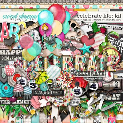 celebrate life kit: simple pleasure designs by jennifer fehr