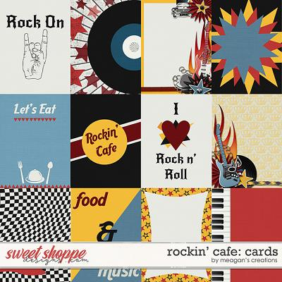Rockin' Cafe: Cards by Meagan's Creations