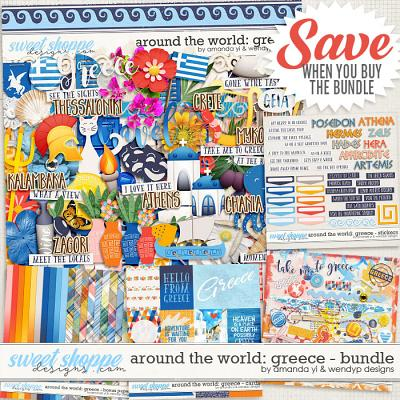 Around the world: Greece - Bundle by Amanda Yi & WendyP Designs