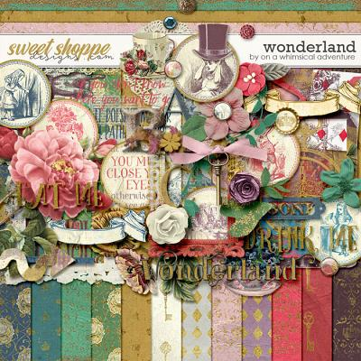 Wonderland Kit by On A Whimsical Adventure