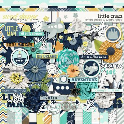 Little Man by Dream Big Designs and Sugary Fancy