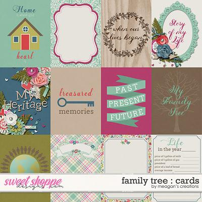 Family Tree : Cards by Meagan's Creations