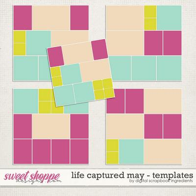 Life Captured May | Templates by Digital Scrapbook Ingredients