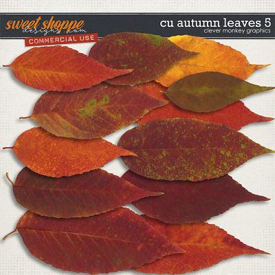 CU Autumn Leaves 5 by Clever Monkey Graphics