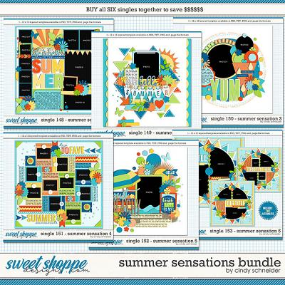 Cindy's Layered Templates - Summer Sensations Bundle by Cindy Schneider