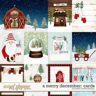 A Merry December: Cards by Kristin Cronin-Barrow