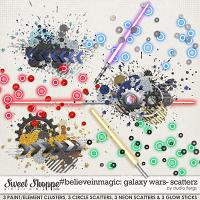 #believeinmagic Galaxy Wars: SCATTERZ by Studio Flergs