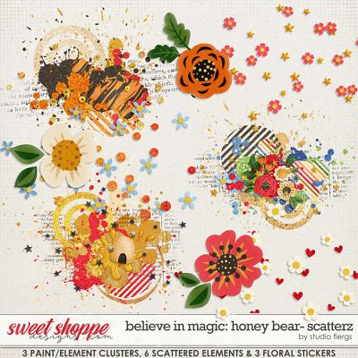 Believe in Magic: Honey Bear- SCATTERZ by Studio Flergs