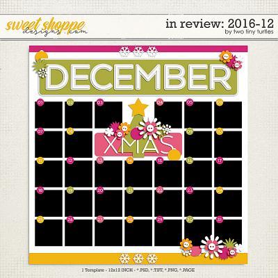 In Review: 2016-12 by Two Tiny Turtles