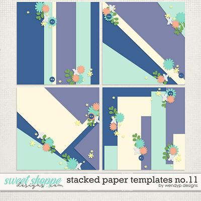 Stacked paper templates no.11 by WendyP Designs