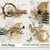 Creme Caramel: Overlays by Captivated Visions