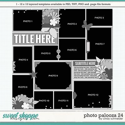 Cindy's Layered Templates - Photo Palooza 24 by Cindy Schneider