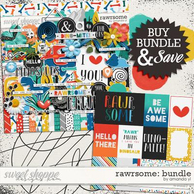 Rawrsome: Bundle by Amanda Yi