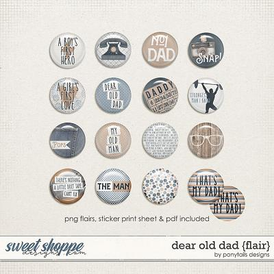 Dear Old Dad Flair by Ponytails