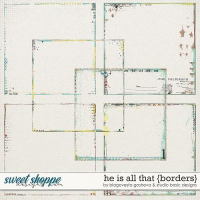 He Is All That Borders by Blagovesta Gosheva and Studio Basic