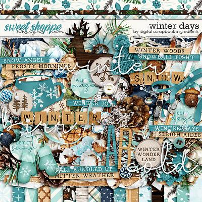 Winter Days by Digital Scrapbook Ingredients