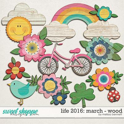 Life 2016-March-Wood by Melissa Bennett