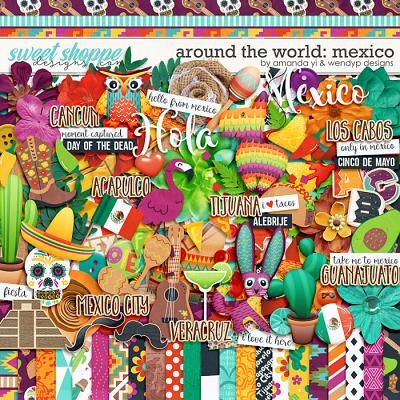 Around the world: Mexico by Amanda Yi & WendyP Designs