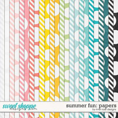 Summer Fun: Papers by River Rose Designs