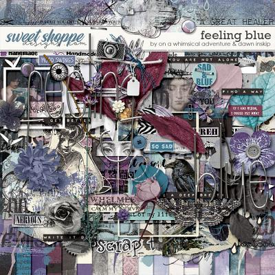 Feeling Blue Kit by On A Whimsical Adventure and Dawn Inskip