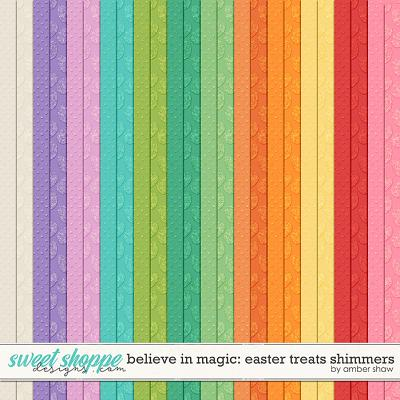 Believe in Magic Easter Treats: Shimmers by Amber Shaw
