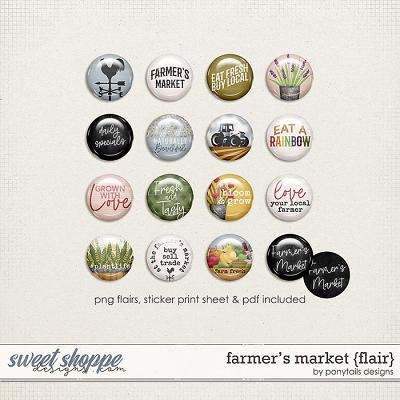 Farmer's Market Flair by Ponytails