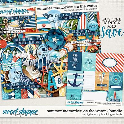 Summer Memories: On The Water Bundle by Digital Scrapbook Ingredients