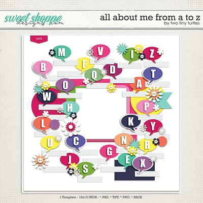 All About Me From A To Z by Two Tiny Turtles