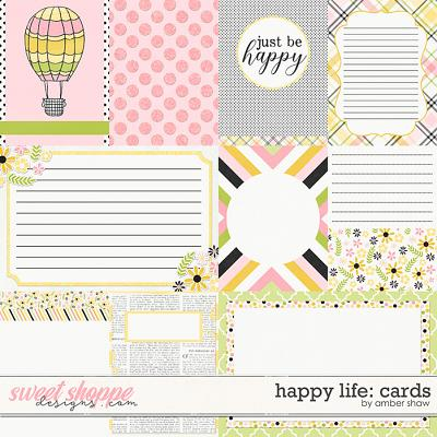 Happy Life: Cards by Amber Shaw