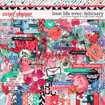 Best Life Ever: February Kit by Brook Magee and Studio Basic
