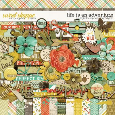 Life Is An Adventure by Digital Scrapbook Ingredients
