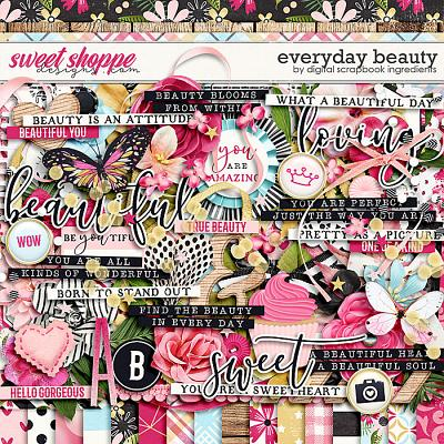 Everyday Beauty by Digital Scrapbook Ingredients